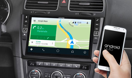 Online Navigation mit Android Auto - X902D-G6