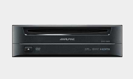 VW Golf 6 - DVD-Player DVE-5300G
