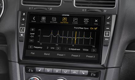 VW Golf 6 - Equalizer - X903D-G6