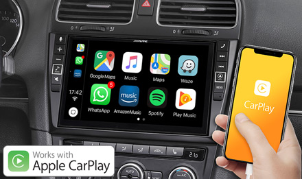 VW Golf 6 - Works with Apple CarPlay - X903D-G6