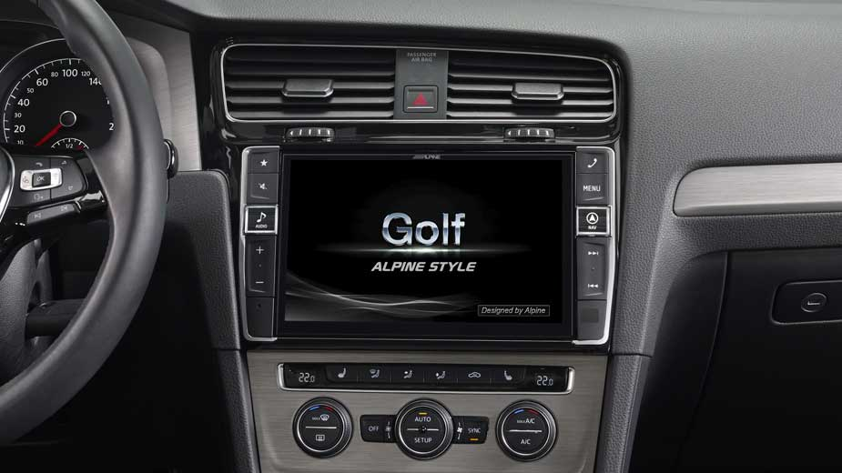advanced navi station alpine style f r golf vii alpine. Black Bedroom Furniture Sets. Home Design Ideas