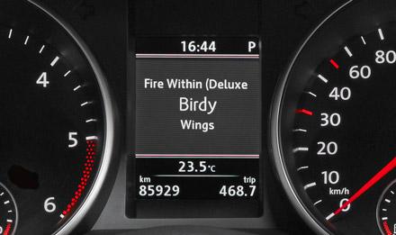 Retains visual representation of Driver Information Display