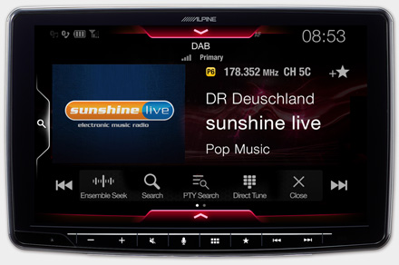 iLX-F903T6 - Built-in DAB+ Digital Radio