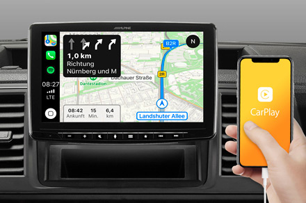 iLX-F903T6 - Online Navigation with Apple CarPlay