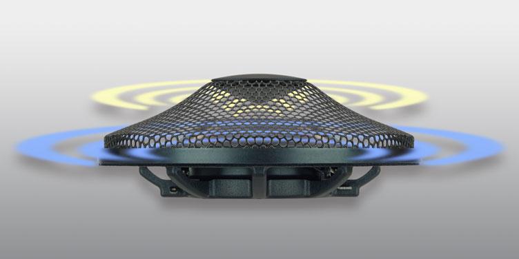 On-Dash Radial Speakers