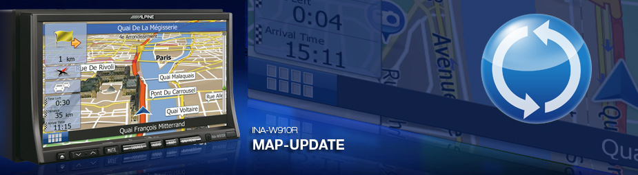 Image Result For Alpine Ina W Map Update