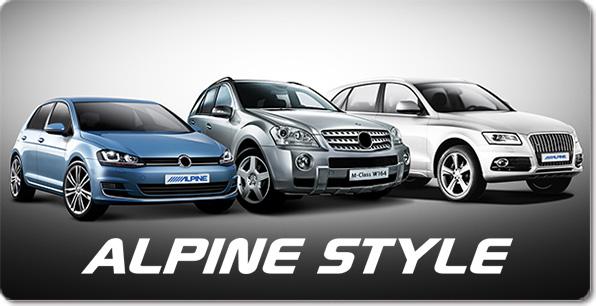 Alpine Style | Fahrzeugspezifische Lösungen