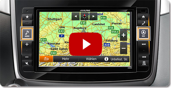 Alpine Style Navigation für Mercedes | Videos
