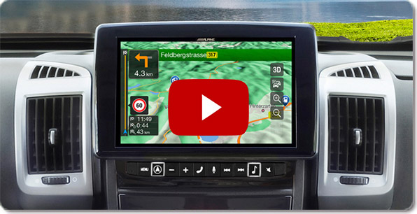 Alpine Style Navigation für Volkswagen ( VW Golf 7 ) | Videos